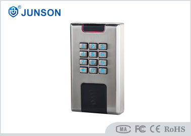 चीन Waterproof stand alone access control system With Wg26 Communication , Gold / silver color आपूर्तिकर्ता
