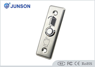 चीन Stainless Steel Exit Push Button Mechanical Access Control Door Release आपूर्तिकर्ता