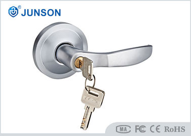चीन Machine Key External Door Handle Entry 72mm For Panic Bar Device आपूर्तिकर्ता