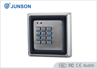चीन Metal Case Standalone RFID Keypad Single Door Access Control With Card Reader फैक्टरी