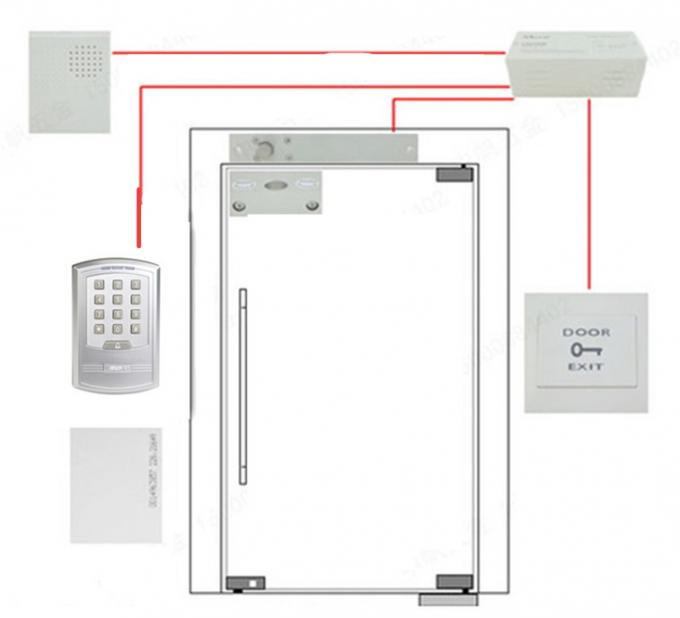 Access Control Keypad External Wg Reader Door Open Time