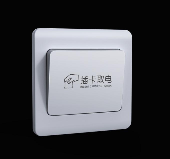 Gold IC Contact  RFID Hotel Locks Zinc Alloy Mifare One 2 Years Warranty